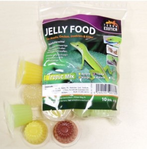 Galaretki Jelly Food- TROPIC MIX (10  galaretek)